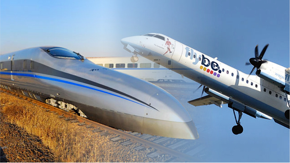 High speed trains - go with 315 km/hour, with better comfort than airplanes